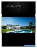 featured luxury villas
