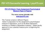 psy 475 successful learning psy475 com 7