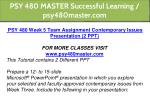psy 480 master successful learning psy480master 19
