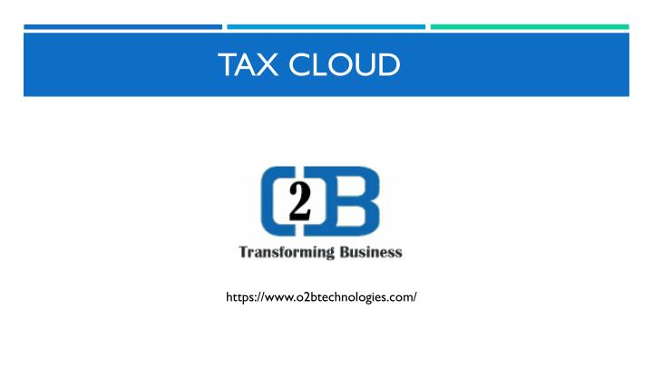 tax cloud n.