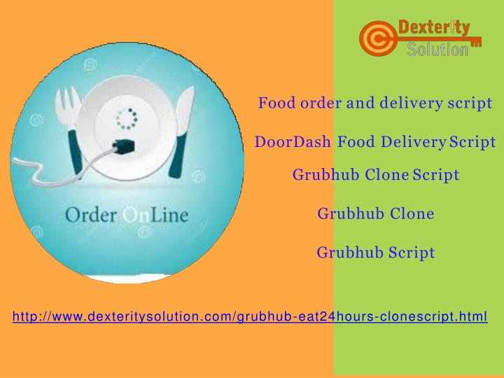food order and delivery script n.