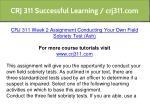 crj 311 successful learning crj311 com 7