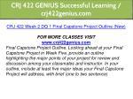 crj 422 genius successful learning crj422genius 5