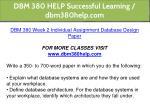 dbm 380 help successful learning dbm380help com 15