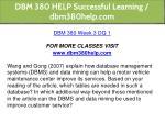 dbm 380 help successful learning dbm380help com 21
