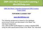 dbm 380 help successful learning dbm380help com 25