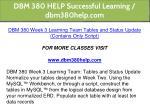 dbm 380 help successful learning dbm380help com 27