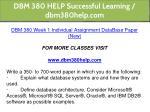 dbm 380 help successful learning dbm380help com 9