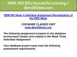 dbm 380 edu successful learning dbm380edu com 34