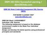 dbm 380 edu successful learning dbm380edu com 41