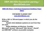 dbm 380 edu successful learning dbm380edu com 9
