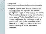 paving stone http www imperialexportsindia com sandstone php