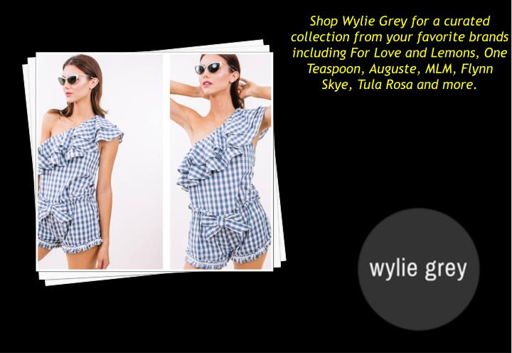 shop wylie grey for a curated collection from n.