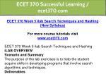 ecet 370 successful learning ecet370 com 10