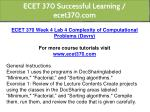 ecet 370 successful learning ecet370 com 9