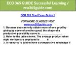 eco 365 guide successful learning eco365guide com 3