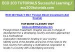 eco 203 tutorials successful learning 15