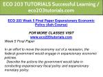 eco 203 tutorials successful learning 17