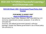 eco 203 tutorials successful learning 9