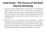 cody emsky the process of self built internet marketing 5