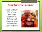 send gifts to lucknow