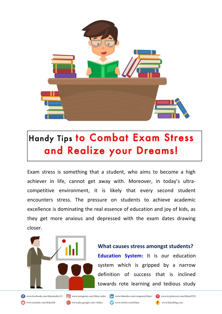 handy tips to combat exam stress and realize your n.