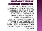 know about digital duchess it consulting