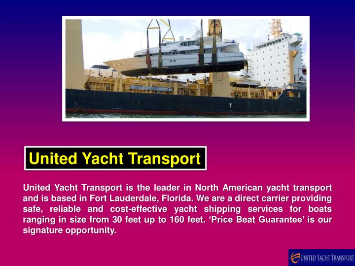 united yacht transport n.