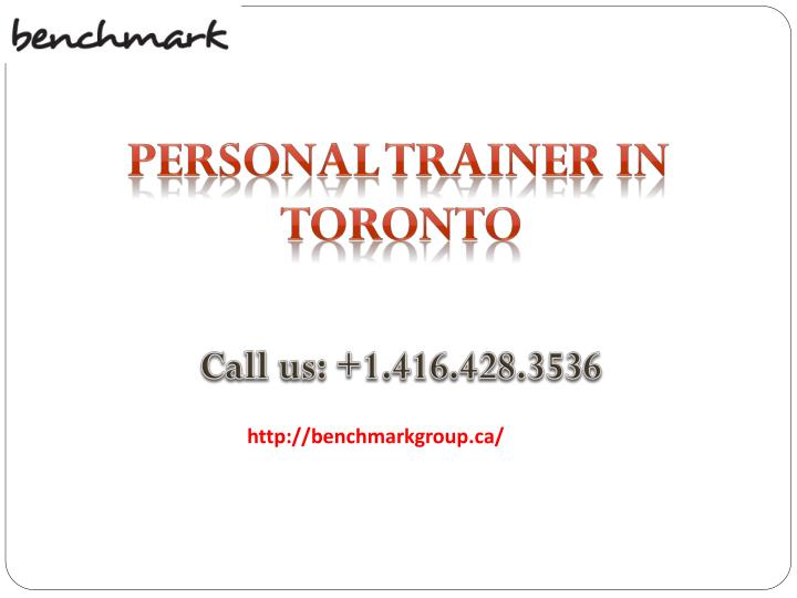 personal trainer in toronto n.