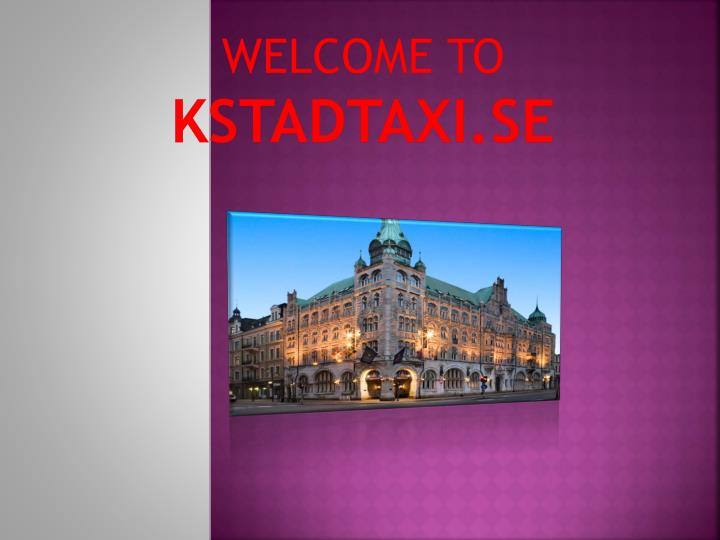 welcome to kstadtaxi se n.