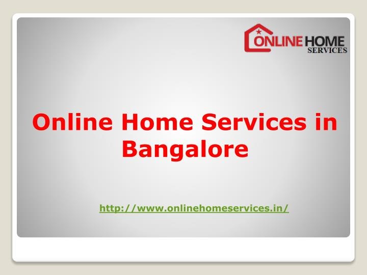 online home services in bangalore n.