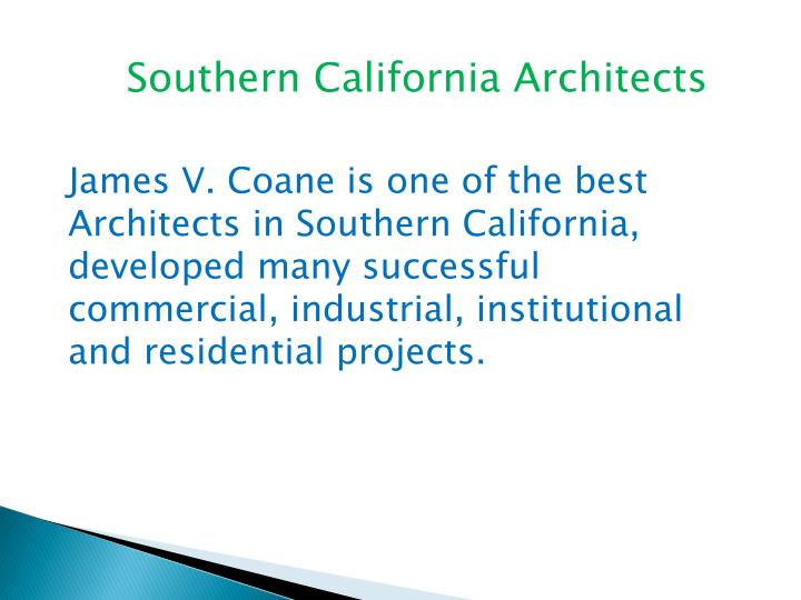 southern california architects n.