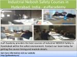 industrial nebosh safety courses in hyderabad india gulfacademy