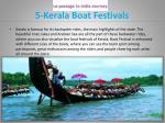 5 kerala boat festivals
