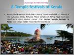 8 temple festivals of kerala