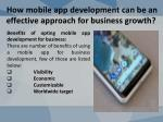 how mobile app development can be an effective approach for business growth 4