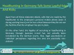 headhunting in germany talk some lawful edge 6