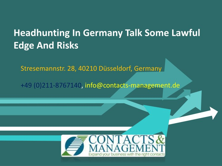 headhunting in germany talk some lawful edge n.