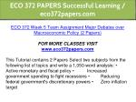 eco 372 papers successful learning eco372papers 30