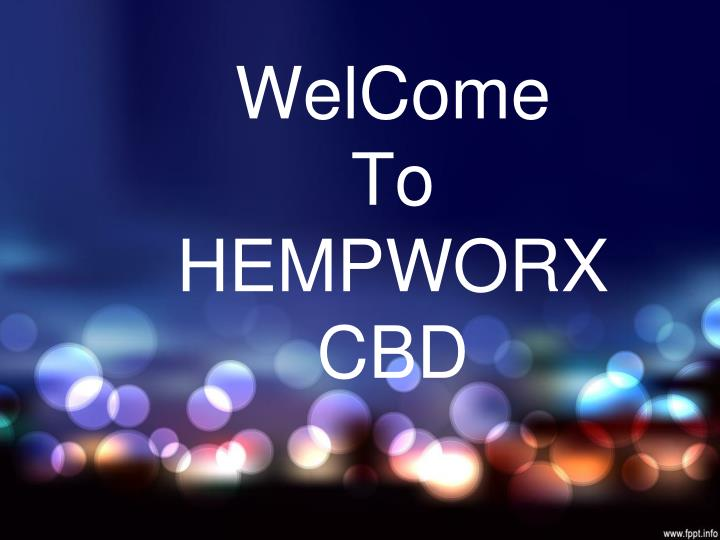 welcome to hempworx cbd n.