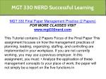 mgt 330 nerd successful learning 2