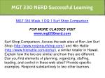 mgt 330 nerd successful learning 3