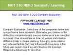 mgt 330 nerd successful learning 4