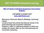 mgt 373 rank successful learning 16