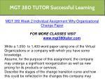 mgt 380 tutor successful learning 7