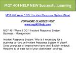 mgt 401 help new successful learning 16