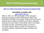 mgt 411 aid successful learning 15