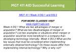mgt 411 aid successful learning 16