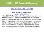 mgt 411 aid successful learning 22