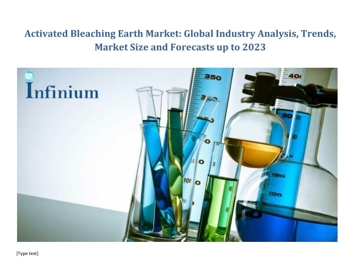 activated bleaching earth market global industry n.